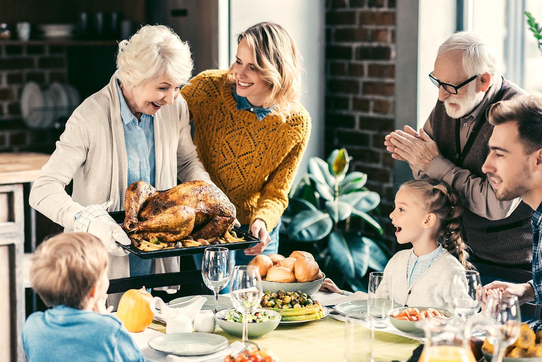 sober on thanksgiving